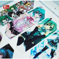 Wholesale High quality Anime Hatsune Miku Transparent bookmark sets