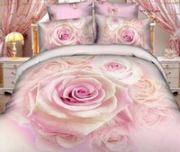 Wholesale D Bedding Set set Cotton Flower Pattern sets
