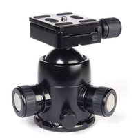 action photography cameras - Triopo B B3 Photography Heavy Duty Camera Tripod Action Ball Head Quick Release Plate