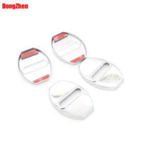 Wholesale Door Lock Decoration Protection Stainless Steel Cover case Fit for Porsche Boxster Cayman Cayenne car styling