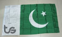 Wholesale Pakistan flag national flag x5 FT cm Hanging National flag Pakistan Home Decoration flag banner
