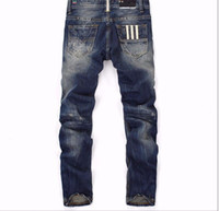 america japan - HOT SALE fashion cotton straight Thin models in Europe and America men s jeans classic newdenim jeans young lon size