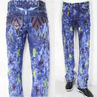army trousers boys - DHL Brand Jeans New Fashion Robin Jeans Distressed Washed Denim Trousers Boys Casual Jeans Streetwear BBF0438