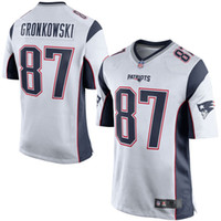 Wholesale Mens Rob Gronkowski Jerseys high quality New England Game Football Jersey Stitched jerseys