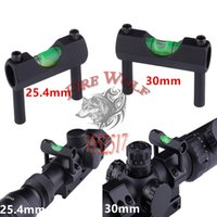 airsoft rifle accessories - Rifle Scope Laser Bubble Spirit Level For mm or mm quot Rifle Airsoft Scope Laser Sight Ring Mount Holder Hunting Accessories