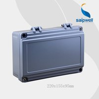 aluminum electronics enclosure - Hot Sale Saipwell High quality IP67 aluminium enclosure box electronic mm with hinge type SP AG FA14