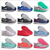 Wholesale Cheap Men Women Running Shoes Thea Print Air Cushion Sneakers High Quality Original Sports Shoes Size