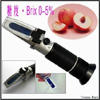 Wholesale Handheld brix Honey Refractometer brix
