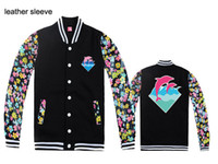 apparel fleece jackets - Fall Men Jackets Pink dolphin fleece outerwear Coats brand name Men s clothing jacket hiphop autumn amp winter Apparel