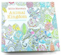 big lost - PrettyBaby x25cm Animal Kingdom Enchanted Forest Lost Ocean secret garden inky coloring book for kids adult Graffiti Painting the_one