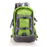 Wholesale Brand New Woman Or Men quot s Outdoor Climbing Package Waterproof Nylon Mountaineering large capacity Bag Couples Casual Sport Backpack Shouders
