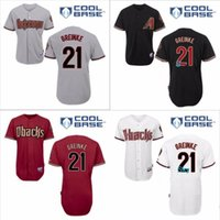 authentic jersey store - Men Zack Greinke Jersey Embroidery Logos Arizona Diamondbacks Baseball Vintage China Authentic Aimee Smith Store