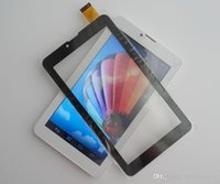 Wholesale 7 quot Capacitive Touch Screen Digitizer Panel for inch MTK6572 phone Tablet PC D TP