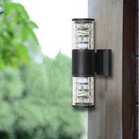 Wholesale 10W up down outdoor led wall light Cylinder porch lamp luminaria Side Aluminum waterproof garden light V V