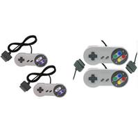 Precio de Joystick usb-Juego de 10 teclas Game 16 Bit Controlador Gamepad Pad Joystick para SFC Super Nintendo SNES Sistema de consola de control de la almohadilla al por mayor