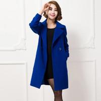 Wholesale Winter Cashmere Coat Women Jacket Long Wool Coat Women Designer Womens Coats Manteau Femme Long Hiver Abrigos Mujer Casaco Kaban