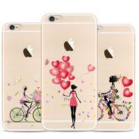 apple cheetah - Lion illustration For Apple Iphone Case S elk cheetah thin TPU Case Full Hemming Oil painting effect Phone Cases