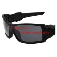 Precio de Gafas de diseño fresco-Precio bajo Super Cool Men Deportes al aire libre Ciclismo gafas de sol gafas de sol Marco Negro Gris Resina Lente Gafas de sol de diseño Calidad excepcional