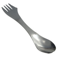 Wholesale Portable in1 Stainless Steel Spork Spoon Knife Fork Cutlery Utensil Tableware Outdoor Camping Picnic Gadget