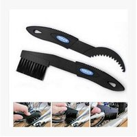 Wholesale Cleaning brush for bicycle chain flywheel cleaning tool tooth disc brush Clean the chain wheel brush