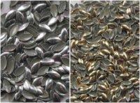 achat en gros de nailheads goujons-expédition ree / 1000pcs / 4 * 8mm Marquise forme nailheads argent métal goujons correctif, gros décoration des ongles en métal Strass decorati ...