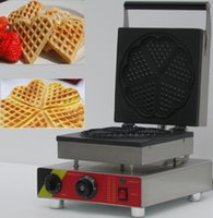Wholesale Hot sell waffle machine Heart shape waffle maker commercial waffle maker v waffle maker egg waffle maker