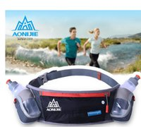 Wholesale AONIJIE Men Women travel Running Waist Bag Sport Packs Bags Outdoor Pocket Running bag With ML Bottles
