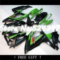 Wholesale 08 GSXR750 GSXR Green black GSXR600 K8 NEW Green Fairing