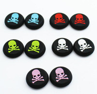 analog head - Cap for Play Station PS4 PS3 PS2 Xbox one FAST SHIPPING Skeleton skull head Silicone Analog Controller Thumb Stick Grip Joystick