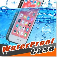 apple case rounds - Iphone s Plus Waterproof Cases Shock proof Case Cover Ultra Slim Thin Light All Round Protective Full Sealed Dust and Snow Proof Case