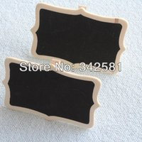 Wholesale Wooden CHALKBOARD Small Shield Blackboard Clip Peg With Honey Bee Wedding Party Decoration Wood Crafts