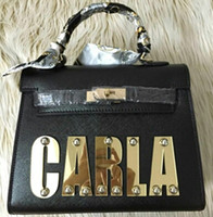 Wholesale Ladies Fashion Kelli Fun Bags Name bags Customized with Personal Name Sizes Different Colours