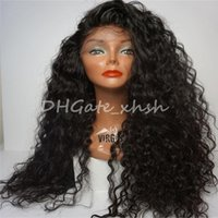 Wholesale Brazilian Human Hair Full Lace Wigs Lace Front Hair Wigs Loose Wave Natural Hairline With Baby Hair For Black Women