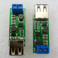auto voltage converter - 2pcs W auto boost buck DC DC converter Voltage regulator Module V V V V V to V USB for Solar Phone Charging