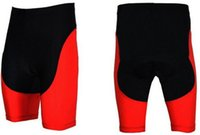 Wholesale high quality red color ropa ciclismo sports man cycling shorts only cycling wear bike clothing cycling pants