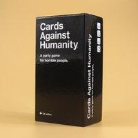 Wholesale Humanity Cards Game UK Basic Edition Cards Against Games Humanity Card Game Cards High Quality