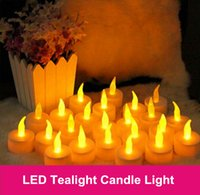 led candles - Christmas lights cm Battery operated Flicker Flameless LED Tealight Tea Candles Light Wedding Birthday Party Christmas Decoration