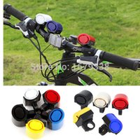 Wholesale 2014 New Sounds Ultra loud Bicycle Bike Electronic Bell Horn Alarm Speaker Siren Easy To Be Fixed On The Bike order lt no tr