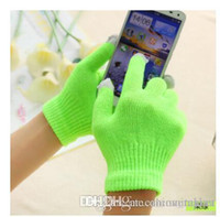 Wholesale Cool Winter Microfiber Gloves Ladies Warm Keeping Gloves Normal length Gloves Shop