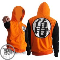 Wholesale Dragonball Z Son Goku Clothing Hooded Sweatshirt Cosplay Hoodie Jacket Costume