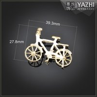 antique bicycle accessories - bicycle zinc alloy charm pendant Antique gold DIY jewelry accessory DIY jewelry Findings Components