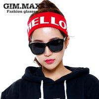 achat en gros de grosses lunettes de soleil noir super-Gros-Unis Retro Black Super Sunglasses Corée du Sud modèles star féminine grands verres des lunettes de soleil polarisées Fashion Frame