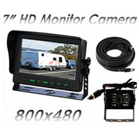 Wholesale Car Monitor inch TFT Color LCD Monitor Vedio Input Monitor for Rearview Camera IR Remote Control