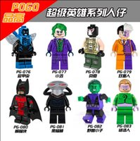 beast boy toys - 2016 IN STOCK PG8018 DC Super Hero Villains Beast Boy The Riddler Minifigures Education Learning Toys Halloween gift