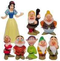 Wholesale Snow White and the Seven Dwarfs Classic Toy Figure Collection set PVC figure Cute Princess CF01