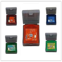advanced movies - Hot GBA games US EU version game boy advance with Game FireRed Sapphire Leaf Green Ruby Emerald for Halloween gifts