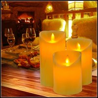 Wholesale Flickering Flameless LED Candle Light For Dinner Tea LED Night Light Romantic For Party Wedding Dinner Valentine s Day Christmas Gift