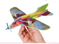 2016 Hacer su propio espuma de planeador surtido de potencia Prop Flying planeadores Planeadores de pájaros aviones avión niños niños bricolaje rompecabezas juguetes