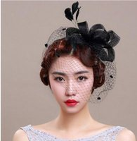 Wholesale A bride for many European bride gift hat headdress handmade retro linen gauze wedding wedding accessories accessories