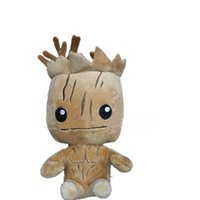 Wholesale 1PC Guardians Of The Galaxy Groot Plush Soft Rocket Raccoon Toy Figure Child Stuffed Toys Baby Doll Gift MK53